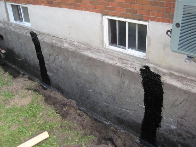 Goudrons lfb exemple de projet - Drainage autour d une maison ...